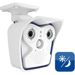 Mobotix MX-M15D-Sec-DNight-D65N65-6MP-F1.8 IP Camera Set 6 MP Modules