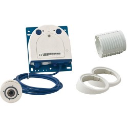 Mobotix MX-S15D-Set1 FlexMount Hemispheric Network Camera