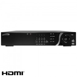 Speco N16NS2TB 16CH 1080p Full HD NVR with Digital Deterrent, 2TB