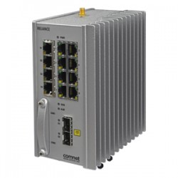 Comnet RLGE2FE16R/S/11/28/CH+ RLGE2FE16R with 2 &times 100/1000 FX