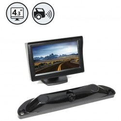 RVS System RVS-5350 Backup Camera System with Built-In Sensors