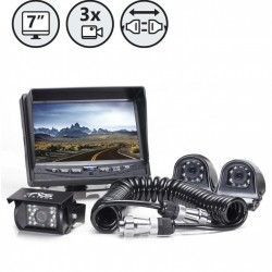 RVS System RVS-770616-2133 Backup Camera System with Side Cameras
