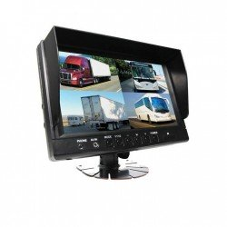 "RVS Systems RVS-6139Q 9"" TFT LCD Digital quad view color monitor"