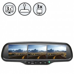 RVS Systems RVS-718-3SC G-Series Rear View Replacement Mirror Monitor
