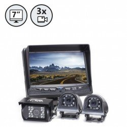 RVS System RVS-770616N Backup Camera System with Side Cameras