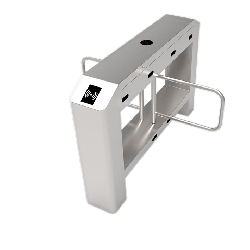 ZKAccess SBTL3211 Swing Barrier Turnstile with Two Barriers for Additional Lane with Controller and RFID Reader