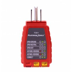 Platinum Tools T301C 110V Outlet Tester