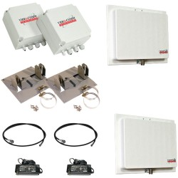 VideoComm TCO-2409QX10 2.4GHz All-Weather 9-Ch Transmitter & Receiver