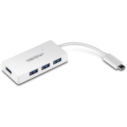 TRENDnet TUC-H4E 4-Port USB-C Ultra-Mini Hub