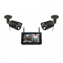 """Uniden UDR777HD 7"""" Touchscreen LCD with 2 Outdoor Cameras"""