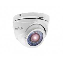 InVid Tech ULT-C2TIRM2812 2 Megapixel 1080p TVI Outdoor Turret Camera