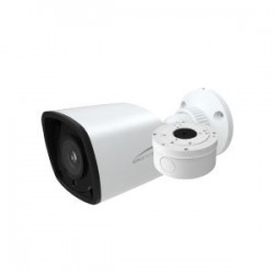 Speco VLBT5W 1080p HD-TVI Bullet Outdoor Camera 2.8mm Lens, White housing