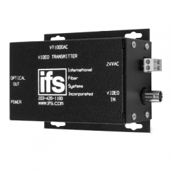 Interlogix VT1000AC Video Mini Transmitter - MM 24VAC Isolated
