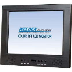 Weldex WDL-1040M 10.4-inch LCD Monitor w/Accessories, 400 NIT Rating