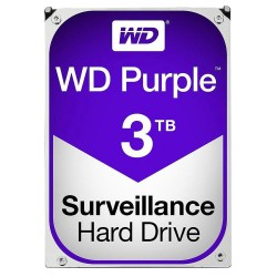 Western Digital WESD-WD30PURX HD WD 3TB Purple Surveillance Hard Drive SATA