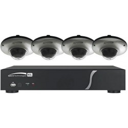 Speco ZIPL84D2G 8Ch NVR System w/4 Dome Cameras, 2TB