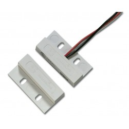 Interlogix 1032W-N Surface Miniature Flange Mount Contact, Wire Leads