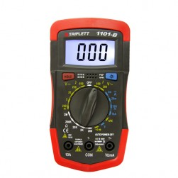 Triplett 1101 Compact DMM with Backlit Display & Temperature Test