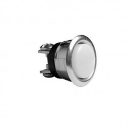 "Alpha 205-C 5/8"" Round Pushbutton - Chrome"