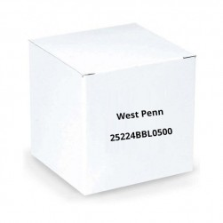 West Penn 25224BBL0500 2 Conductor 18AWG Unshielded CMP 500.Ft Blue