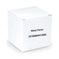 West Penn 25186BWH1000 18/6 Unshielded CMP Cable 1000.Ft White