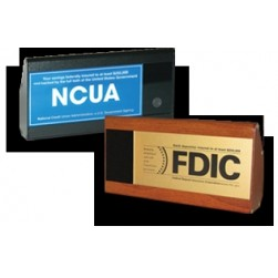 IRIS 2SCN-IP Teller Sign Camera w/NCUA Sign