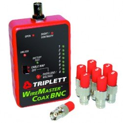 Triplett 3274 Coaxial Cable Mapper with 8 Remotes & Carrying Case