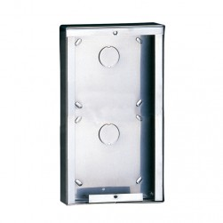 Comelit 3316/2 Stainless steel surface-mounting box for 2 modules