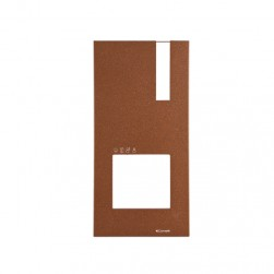 Comelit 4793C Corten Faceplate for Quadra Entrance Panel