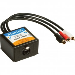 MuxLab 500017-PRO S-Video / Audio ProAV Balun