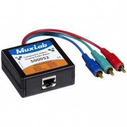 MuxLab 500052 Component Video/Analog Audio Balun, Male