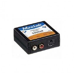 MuxLab 500038 S-Video / Hi-Fi Balun, Female
