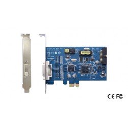 Geovision GV600/16 1-16 Channel Video Capture Card 7.5 IPS at 720x480