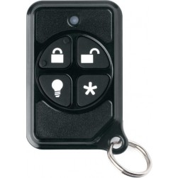 Interlogix 600-1064-95R-PK 4-Button Micro Keyfob, 25-Pack