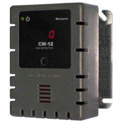 Macurco CM-12 120V CO Fixed Gas Detector Controller/Transducer