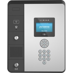 """Linear EP-436 Entry Pro 36-Door Networked Telephone Entry & Access System, 4.3"""" Display w/Keypad"""
