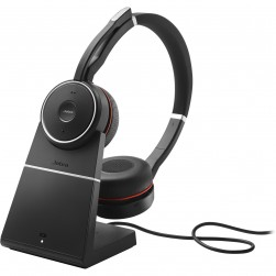 Jabra 7599-832-199 Evolve 75 Headset with Charging Stand