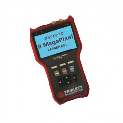 "Triplett 8065 4"" HD Pro Ruggedized NTSC/PAL, AHD, CVI and TVI Camera Tester"