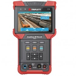 Triplett 8073 CamView IP Pro-D Ruggedized IP and Analog NTSC/PAL, AHD, HD-CVI, HD-TVI Camera Tester