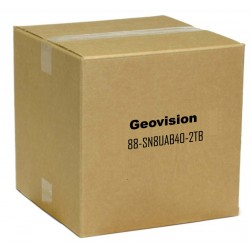 Geovision 88-SN8UAB40-2TB Package GV-SNVR0812 8 Channel NVR, 2TB with 6 x UAB40004F Cameras
