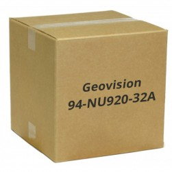 Geovision 94-NU920-32A I9 Series 32 Channel 20 Bay Network Video Recorder, No HDD