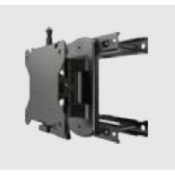 American Dynamics ADMMWT75PKITB 75MM Vesa Pivoting Wall Mount (Black)