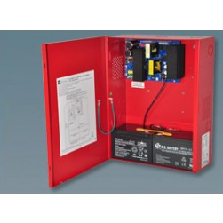Altronix AL1024ULXR Single Output Power Supply/Charger, 24VDC, Red