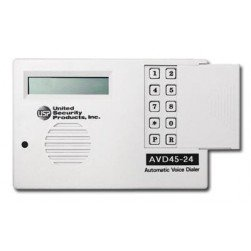 United Security Products AVD45-24 Auto Voice Dialer with 1 VMZ - Calls 4 Numbers 24VDC