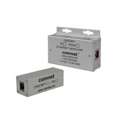 Comnet CNFE1RPT 100 Mbps Ethernet Repeater with 60W Pass-Through PoE