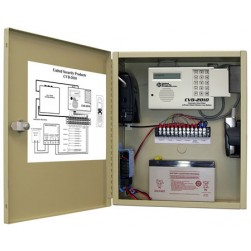 United Security Products CVD-2010P Cellular Dialer Back up in metallic cabinet w/ AVD-2010 Dialer, incl. Motorola Cell phone