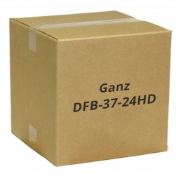 Ganz DFB-37-24HD 1080p AHD Door Frame Camera, 3.7mm Lens, Black