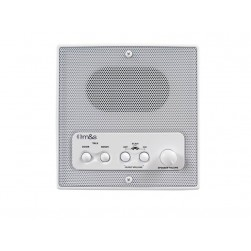 Linear DMC3RS Retrofit Indoor Room Station with Remote Scan and Master Volume, White