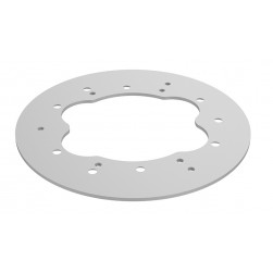 Interlogix DR-RWM-AD Adapter Plate for Dome to DR-RWM Wall Mount
