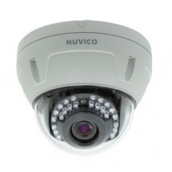 Nuvico EC-2M-OV39N 2MP EasyNet HD Indoor D/N IP Vandal Dome, PoE